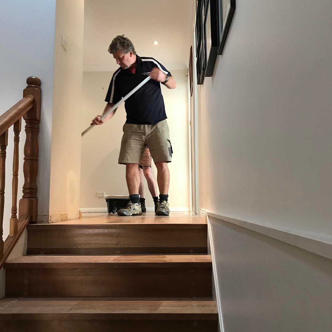 Cleaning Polished Timber Floors
